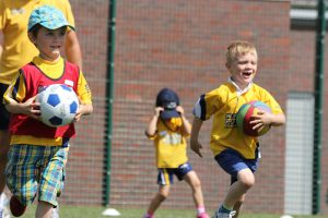 Kids' Football Classes in Hayes