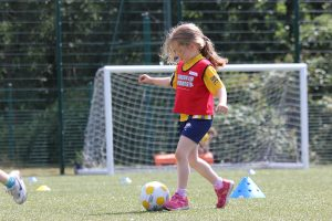 football for children in coney hall