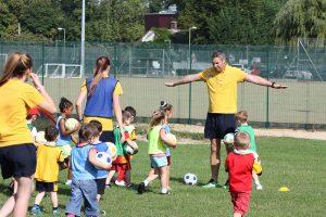 football training for children in croydon