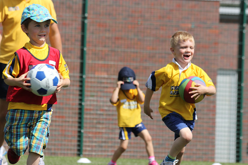 football munchkins for kids in greenwich
