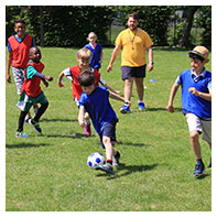 childrens football classes in shirley