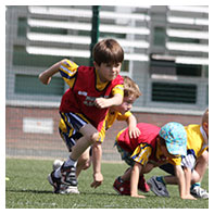 kids football classes lee